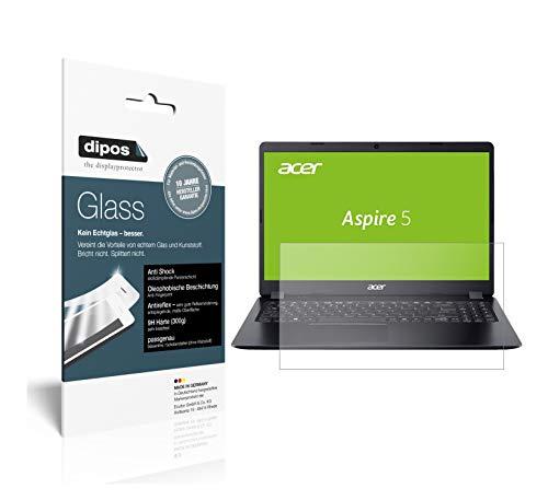 dipos I 2X Panzerfolie matt kompatibel mit Acer Aspire 5 (A515-54G-59WR) Schutzfolie 9H Displayschutz-Folie
