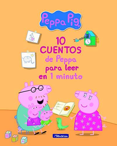 10 cuentos de Peppa para leer en 1 minuto (Un cuento de Pepp