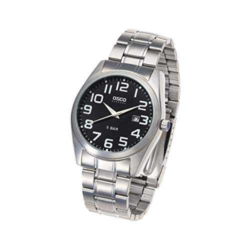 OSCO Workline Herren Armbanduhr Edelstahl schwarz 06188012