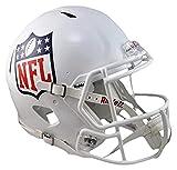 NFL Riddell Casco de Velocidad réplica de tamaño Completo, Mediano, Color Blanco...