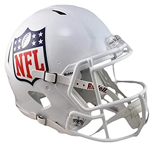 NFL Riddell Full Size Replica Speed Helm, Größe M, Weiß