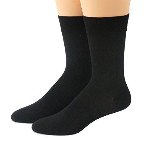 Shimasocks Herren Business Socken 98prozent Baumwolle, Farben alle:schwarz, Größe:47/48