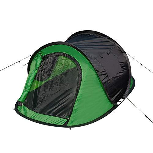 EUGAD Camping Pop Up Zelt Outdoor-Zelt für 2-3 Personen Wurfzelt Sekundenzelt wasserfest mit Tragetasche 145x240x100cm Grün