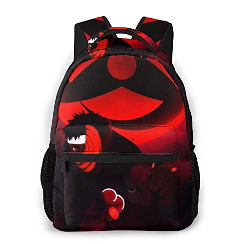 DJNGN Na-Ru-to All-Over Print Sublimated Casual Backpack Travel School Laptop Backpack One Size
