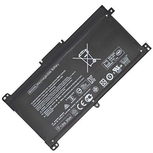 BK03XL Reemplazo de la batería del portátil para HP Pavilion X360 14-BA000 14M-BA000:14m-ba011dx 14m-ba013dx 14m-ba015dx 14m-ba114dx 14-ba253cl 14-ba125cl 14-ba175nr 14-ba051cl (11.55V 41.7Wh)