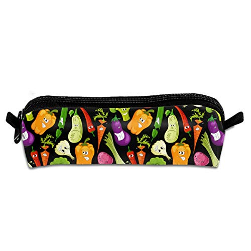 Pen Case Unisex,Funny Vegetable,Durable Student Stationery,Used For Study,School,Travel