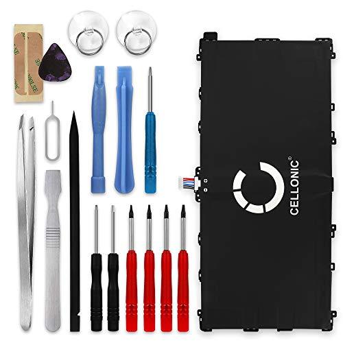 subtel® Premium Akku kompatibel mit Samsung Galaxy Tab Pro 12.2 inkl. Werkzeug-Set (9500mAh) T9500E Ersatzakku Batterie Tabletakku