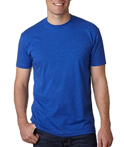 Next Level N6210 T-Shirt, Charcoal + Royal (2 Shirts), XX-Large