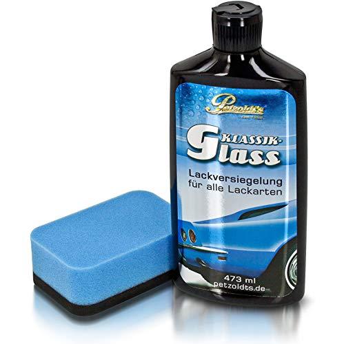 Klassik-Glass Lackversiegelung Petzoldts Set, das Liquid Glass® Nachfolgeprodukt