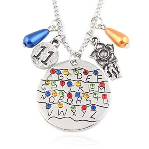 Excelente Colgante con Monster Carta Stranger Things Charms