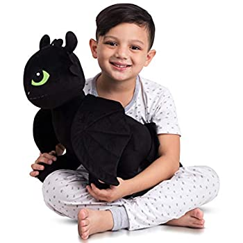 Franco Kids Bedding Super Soft Plush Cuddle Pillow Buddy One Size How to Train Your Dragon Toothless