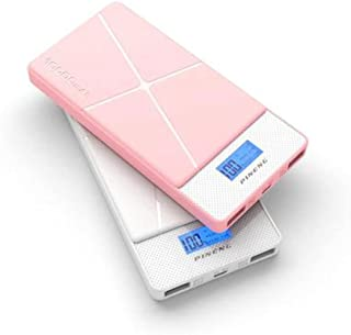 10000mAh Power Bank Portable Quick Charger External Battery Pack High Speed Smart 2 Output Ports Compatible with All Phon...