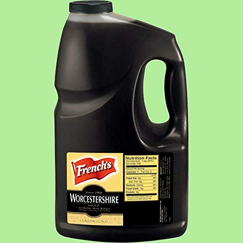 1 pc of FRENCH'S Worcestershire Sauce 1 JUG x 1 Gallon FOODSERVICE