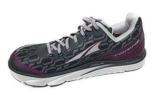 ALTRA Women's Torin IQ Road Running Shoe, Black/Purple, Size 8.5 M US, ALW1837Q050