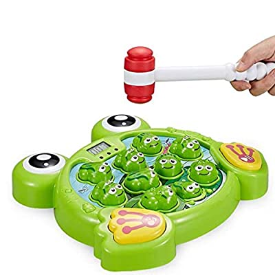 Amazon - Save 80%: MKLEKYY Interactive Whack A Frogs Game, Learning, Active, Early Developmen…