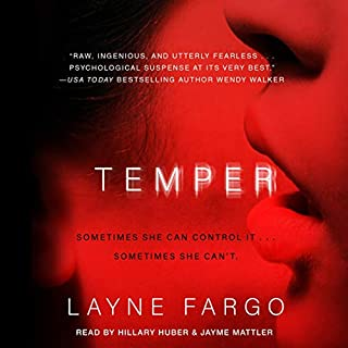 Temper audiobook cover art