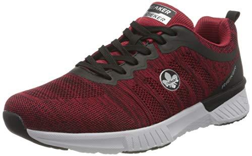 Rieker Herren B9800 Sneaker, rot,44 EU