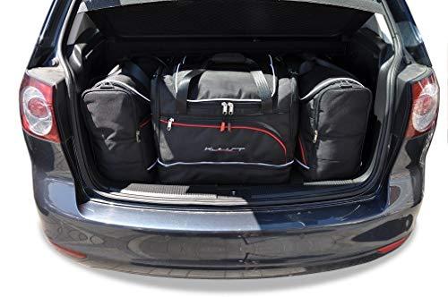 KJUST Set de Sacs de Voiture 4 pièces Compatible avec VW Golf Plus 2008 - 2012