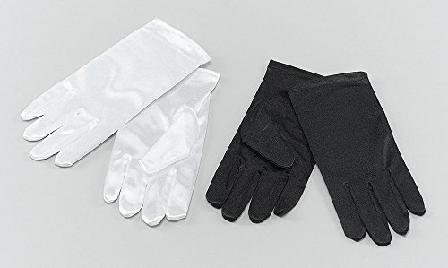 Childs Gloves. Ivory Accessory Fancy Dress