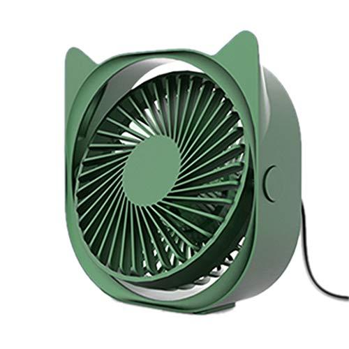 N/ Kleiner VentilatorUSB-Lüfter 3-Gang-Silent-Kleinlüfter für Auto-Rücksitze Klimaanlage Mini-USB-Lüfter für Office-Geräte Desktop Desk