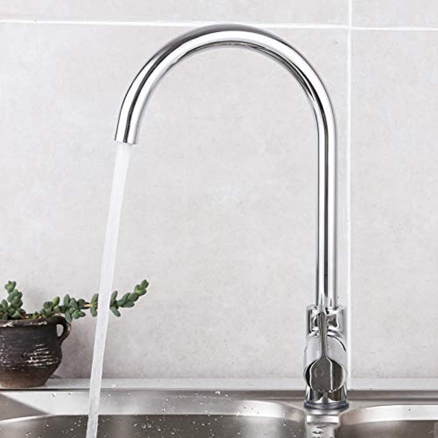Oudan Kitchen Kitchen Sink Bathroom Cabinet Faucet Hot and Cold Taps redation (color   -, Size   -)