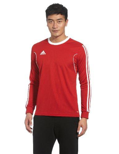 adidas Herren Teamtrikot Fußballtrikot Squadra 13 langärmelig Langarm, University Red/White, M