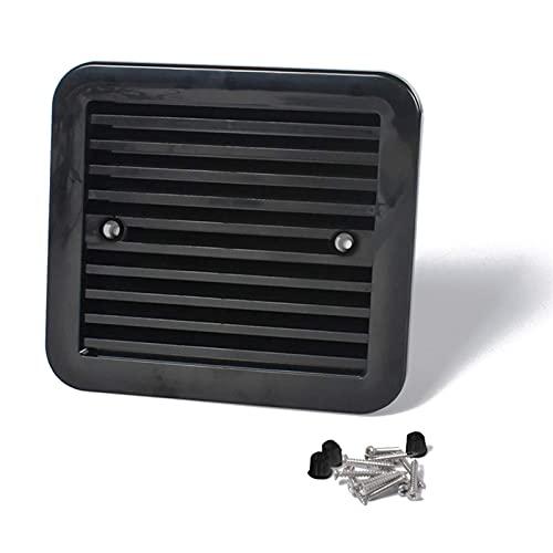 Aire acondicionado Baffle 12V Frigorífico Ventilación con ventilador para RV TRAILER CARAVAN AIR AIR AIR AIRE FUERTE ACCESORIO ACCESORIOS ACCESORIOS DE ACCESORIOS DURANTES Y AJUSTES (COLOR: ESTILO NEG