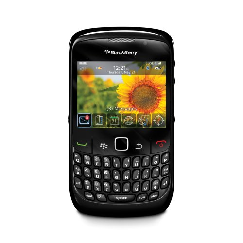 BlackBerry Curve 8520 Smartphone (QWERTZ, Bluetooth, 2MP Kamera, Push-Service) schwarz
