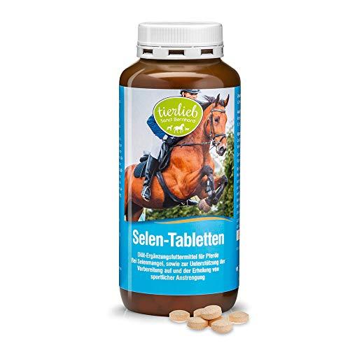Sanct Bernhard tierlieb Selen-Tabletten Diät-Ergänzungsfuttermittel für Pferde, Inhalt 500 Tabletten