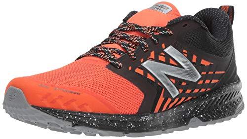 New Balance Nitrel v1, Zapatillas de Trail Running para Hombre, Naranja Negro, 47.5 EU Weit