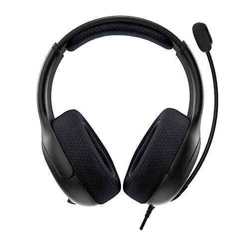 PDP Gaming LVL50 Wired Headset with Noise Cancelling Microphone: Black - Xbox Series X│S, Xbox One, PC - Xbox Series X