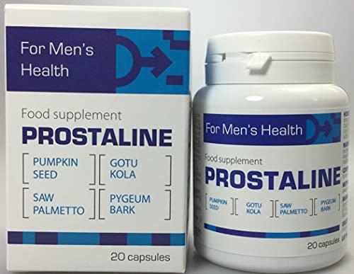 Prostaline - 20 cápsulas con aceite de calabaza