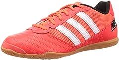 Adidas Super Sala, Zapatillas Deportivas Fútbol Hombre, Rojo (Solar Red/FTWR White/Core Black), 42.67 EU
