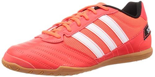 Adidas Super Sala, Zapatillas Deportivas Fútbol Hombre, Rojo (Solar Red/FTWR White/Core Black), 42 2/3 EU