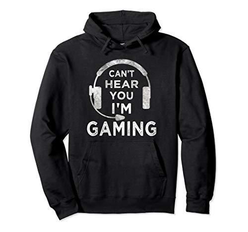 Lustiges Gamer Videospiele Geschenk Jungen Mädchen Teenager Pullover Hoodie