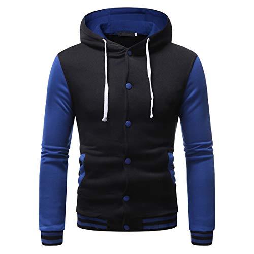 ZGRNPA Herren Jacke Windproof Thick Warm Active Coat Full Zip Jacket Outdoors...