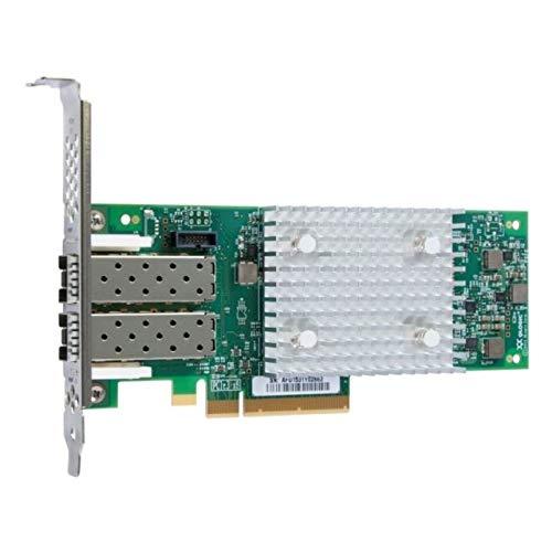 QLogic 16Gb FC Dual-Port HBA (Enhanced Gen 5) - Adaptateur de bus hôte - PCIe 3.0 x8 profil bas - 16Gb Fibre Channel x 2 - pour System x35XX M5, x3750 M4, x3850 X6, x3950 X6, ThinkSystem SR590, SR645