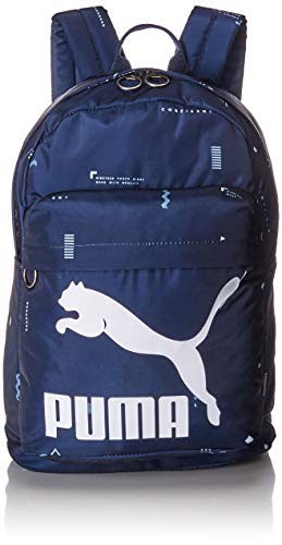 Puma Originals Backpack, Unisex Adulto, Peacoat/Graphic, OSFA