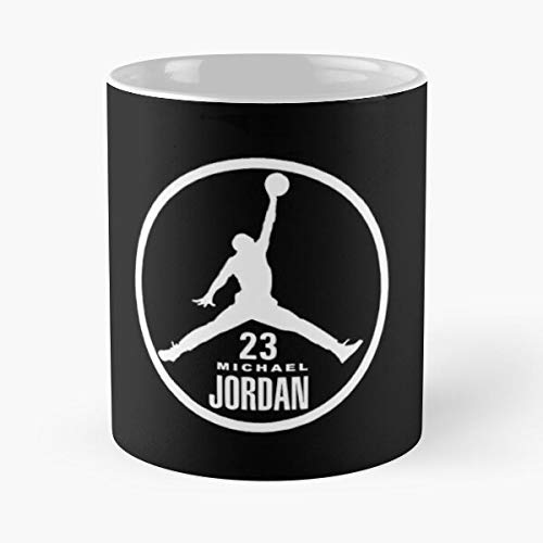 Michael Jo-rdan 23 Classic Mug - 11 Ounce For Coffee, Tea, Cocoa And Mulled Drinks, The Best Gift Holidays Aguda