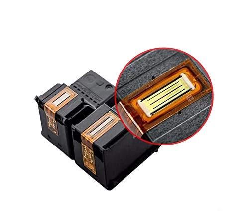 XIAOFANG Fangxia Store 2 X Black Reemplazo Fit para HP 338 343 Fit para HP338 Fit para HP343 Cartucho de Tinta Fit para HP Deskjet 460c 5740 6520 6540 6840 Photosmart 8150 (Color : 2bk)