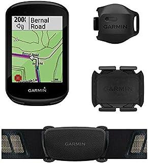 Ciclocomputador com GPS Garmin Edge 830 Bundle TouchScreen com Mapeamento de Informações com Monitor Cardíaco e Sensor de ...