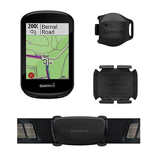 Ciclocomputador com GPS Garmin Edge 830 Bundle TouchScreen com Mapeamento de Informações com Monitor Cardíaco e Sensor de Velocidade e Cadência