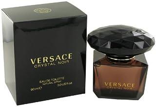 Gianni Versace Eau de Toilette Spray, Crystal Noir, 3 Ounce