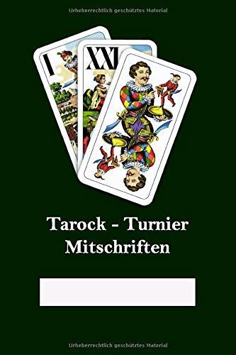 Tarock: Turnier Mitschriften