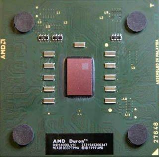 AMD Duron 1800 MHz DHD1800DLV1C FSB 266 / Sockel A 462 CPU (5K) - Tray CPU ohne Kühler