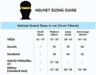 Studds Dude Half Face Helmet (Blue, L)