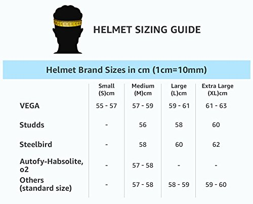 Studds Ninja Elite Full Face Helmet with Carbon Center Strip (Red, M)