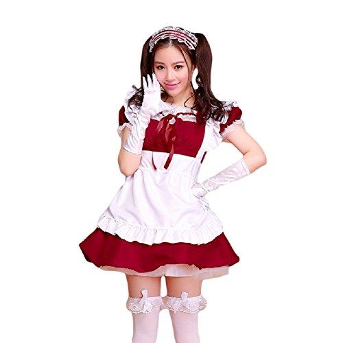 coconeen Anime Cosplay disfraz de doncella Francesa traje de Halloween