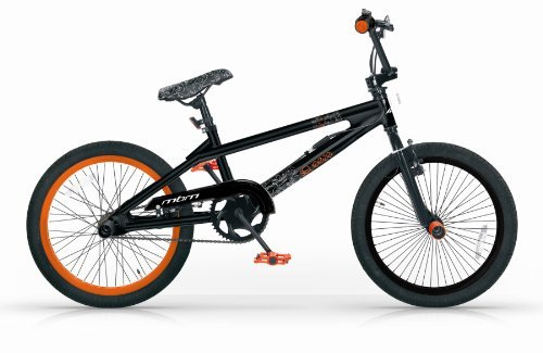 MBM BMX SQUEEZE 20'' FREESTYLE FREE STYLE BICICLETTA NERA 1S