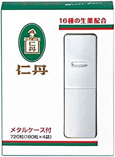 仁丹メタルケース入 720粒入(金もしくは銀・色の指定はできません)